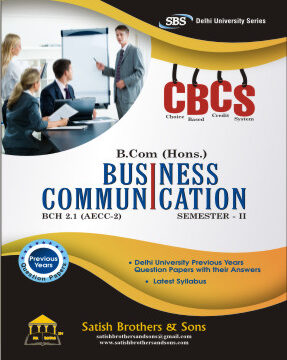 DU B. Com Hons 2nd Sem Business Communication Previous Year, Solved Question Paper