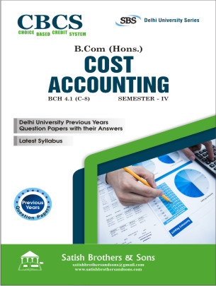 DU B.Com Hons 4th Sem Cost Accounting Previous Year, Solved Question Paper