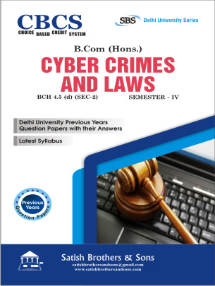 DU B.Com Hons 4th Sem Cyber Crimes, Laws Previous Years, Solved Question Paper